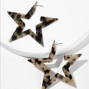 🖤Coming Soon🖤 Acrylic Star Earrings